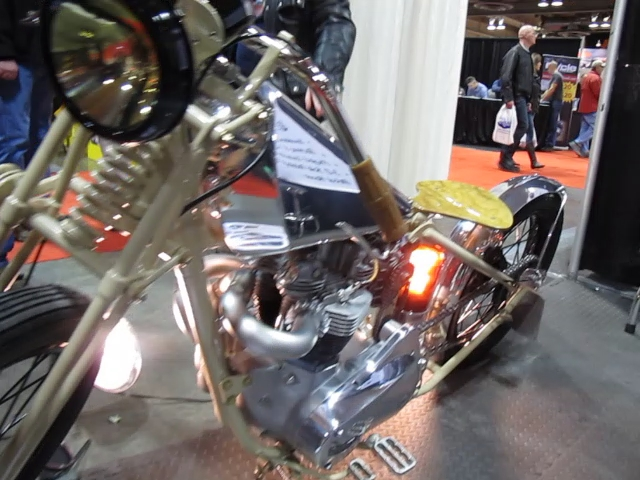 Amazing Steampunk Triumph Franken-Awesome Bike