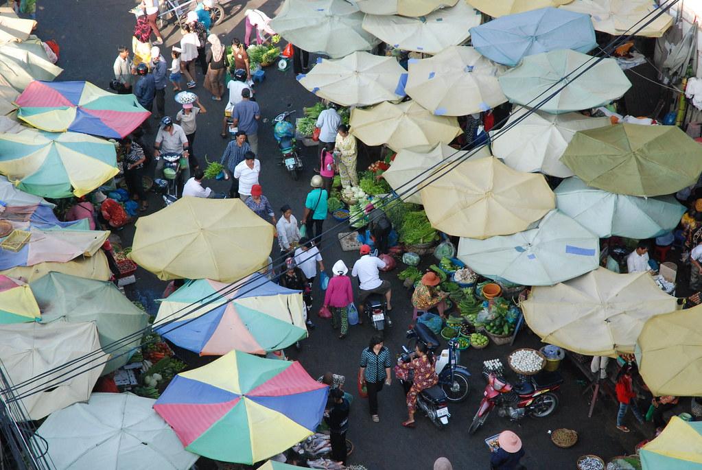 Phnom Penh market