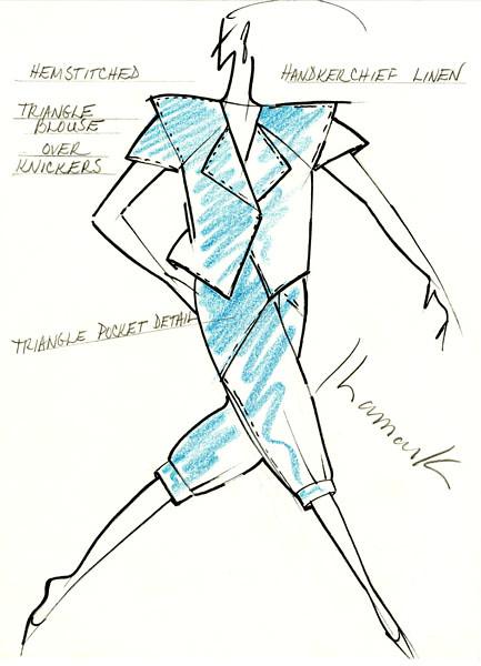 Original Sketch by Ronaldus Shamask
