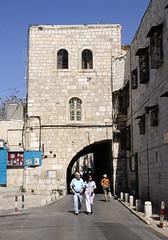The street snapshot of Tel Aviv