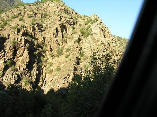 mountain rock turkey hill türkiye canyon törökország valley artvin notch gully klamm szurdok