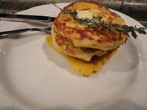 3 quesos con torto y manzana del Mayerling
