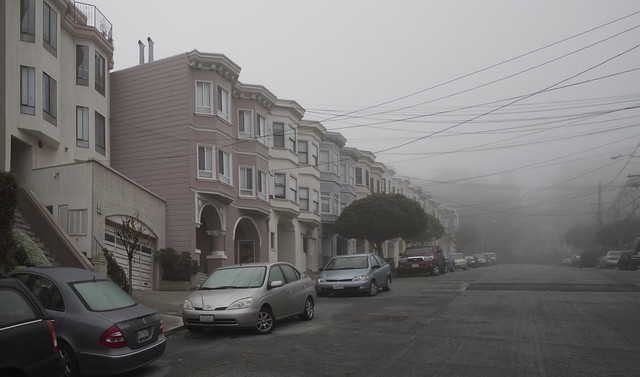 Foggy Richmond.  San Francisco (2011)