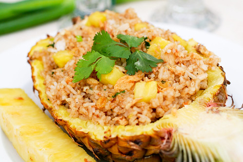 Pineapple fried rice ccuart Image collections