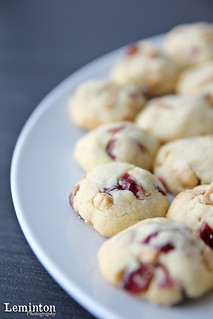 Cranberry with mix nuts cookies