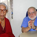 Dr. Gilbert Kasirsky, founder of Medical Care International, with an Elder monk.