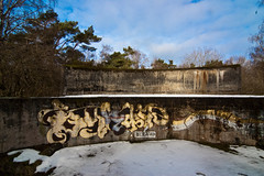 The abandoned WWII bunker complex