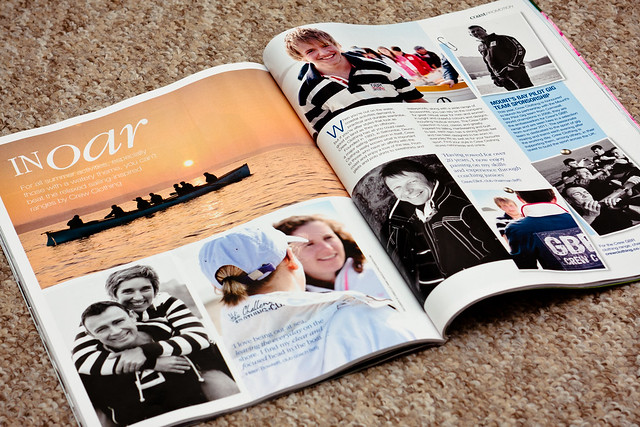 Crew Clothing in Coast Magazine