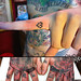 Micro Hand Tattoos by Rex Roxwell