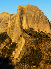 Half Dome in the Golden Hour