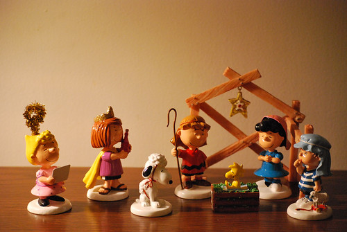 Peanuts Nativity by Smree