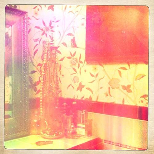 Adored vintage hipstamatic tour of la salle de bain in for Salle bain vintage
