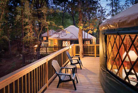 Luxury Yurts Shenandoah Crossing The Luxury Yurts At