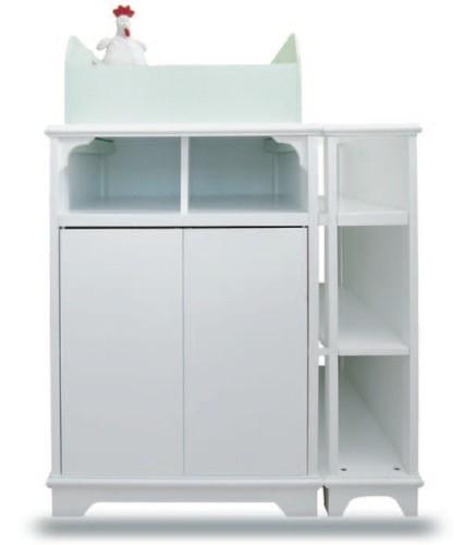 Juka 9 mueble cambiador para beb con bordes de seguridad for Muebles cambiadores de bebe