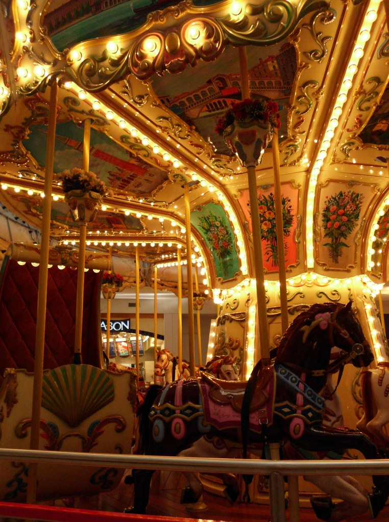 carousel, Orland Square, Orland Park | I could pass this off