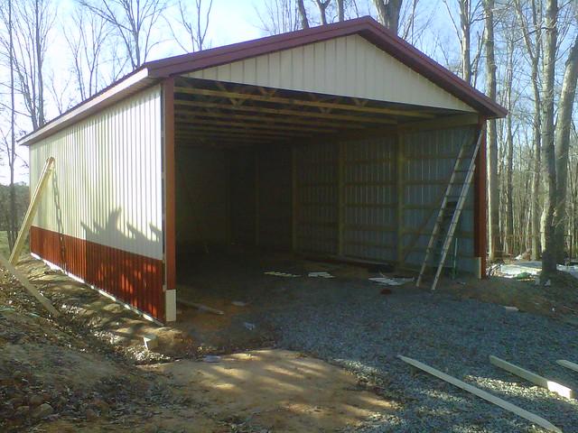 hay storage pole barn flickr photo sharing ForHay Pole Barns
