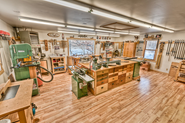 Shop envy a gallery on flickr for One car garage woodshop