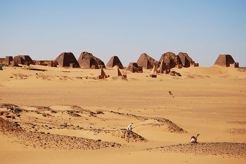 Pyramids of Meroë by dadaniel_de