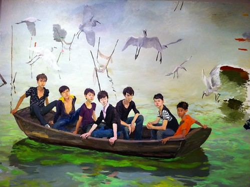 """Entering Tai Lake"" by Liu Xiaodong"