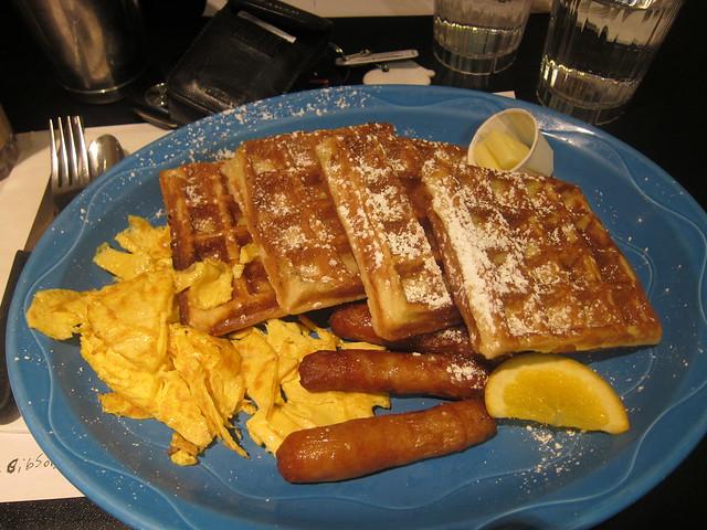 Belgian Waffles | Sophie's Cosmic Cafe