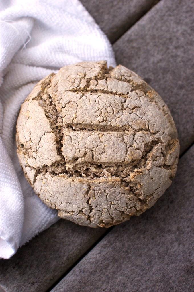 gluten-free multi-grain boule, first attempt
