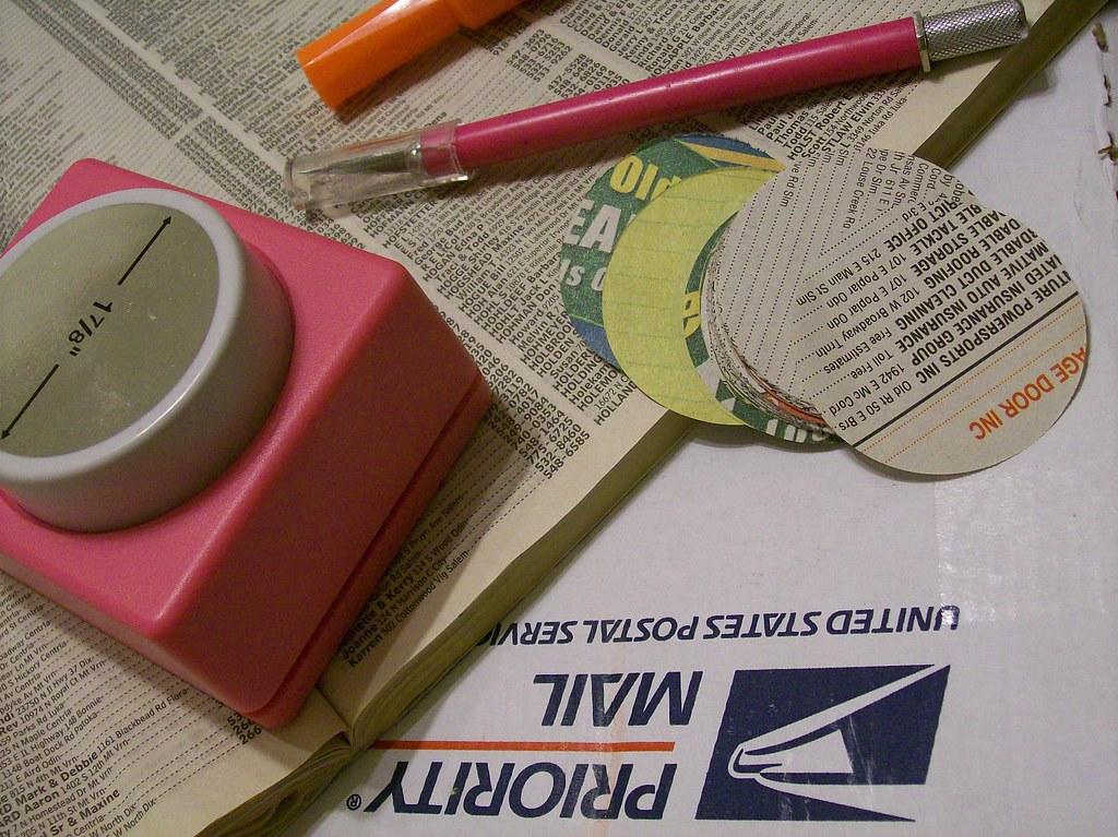 phone book circles