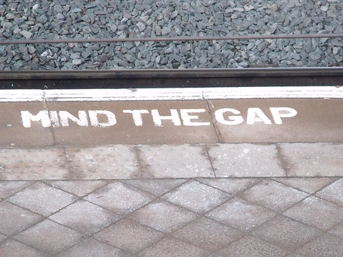 Birmingham New Street Station - the void - Mind The Gap