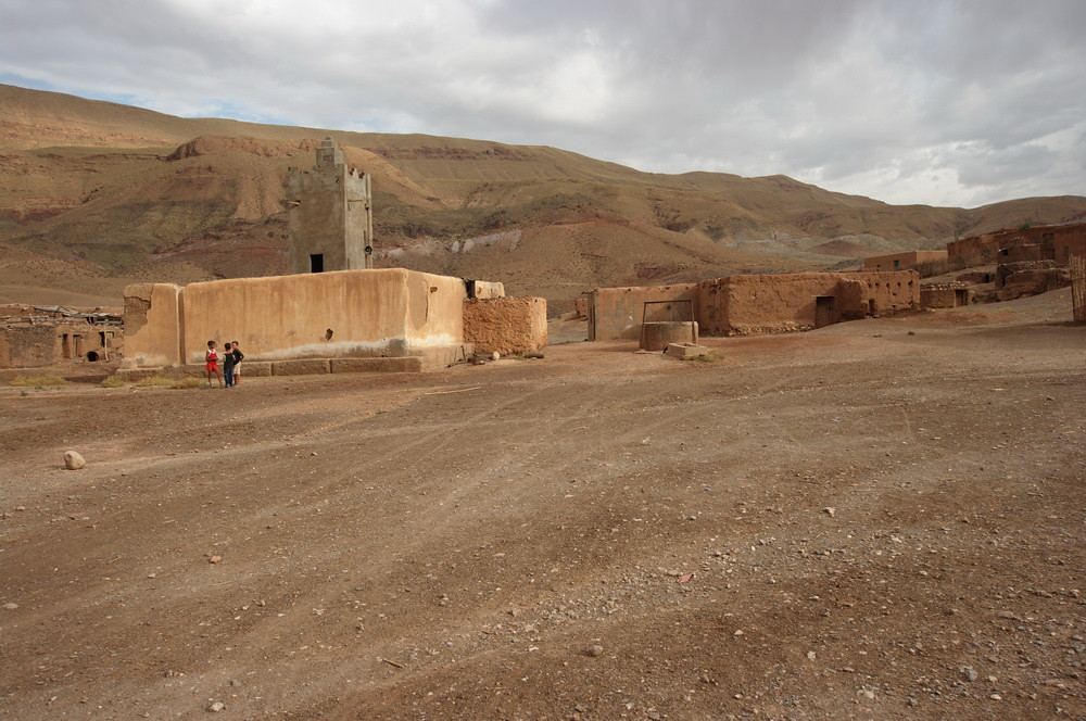 Poblado bereber en las cercanías de Imilchil. Fuente