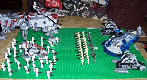 Lego Star Wars Clone Wars Battle