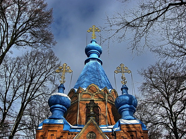 20100203 Berlin Tegel Russisch Orthodoxer Friedhof Winter Schnee (5)