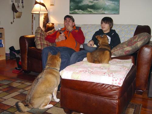 Dave, Isaiah, Wolf & Max