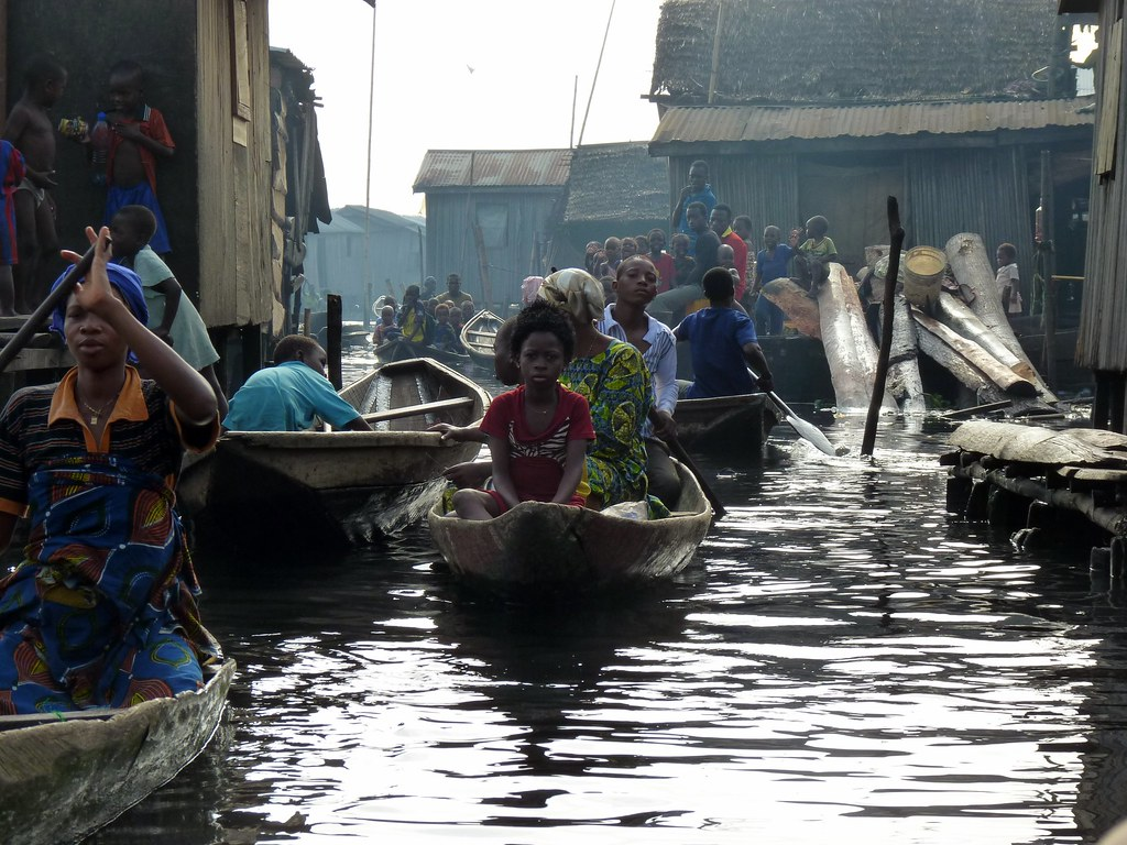 Residents of Makoko Slum