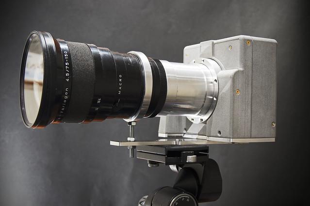 [scanner camera] Lens finally mounted