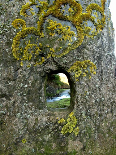 old autumn history texture nature yellow stone canon moss ancient shadows view hole post powershot lichen slate isleofman manx a710is poylldooey