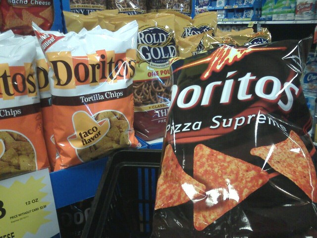 supreme pizza doritos