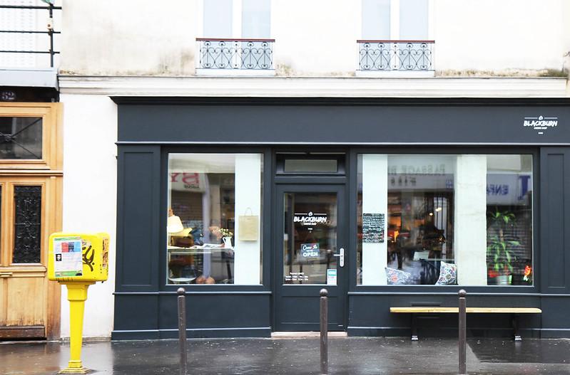 Blackburn Cafe Paris Menu