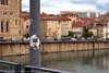 Sur le Pont Vieux, vue sur Romans sur Isère, 26100.