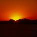 Puesta de sol en Benidorm