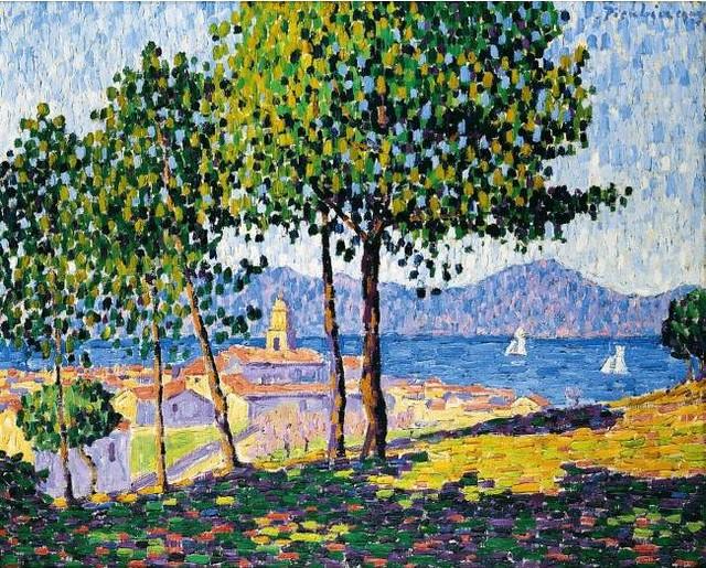 Picabia, Francis (1879-1953) - 1909 SAINT TROPEZ, EFFECT OF SUN (Sotheby's London, 2006)