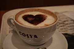salep(0.0), espresso(1.0), cappuccino(1.0), cup(1.0), flat white(1.0), cup(1.0), mocaccino(1.0), cortado(1.0), coffee milk(1.0), caf㩠au lait(1.0), coffee(1.0), ristretto(1.0), coffee cup(1.0), caff㨠macchiato(1.0), caff㨠americano(1.0), drink(1.0), latte(1.0), caffeine(1.0),