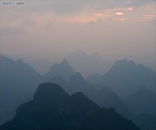 world life china street travel light sky people sun mist mountains heritage nature fog wall clouds sunrise cool nikon warm exposure view earth guilin rags quality journal culture atmosphere scene ridge fade layers ng contour publication nationalgeographic subtle contours guangxi xingping d700