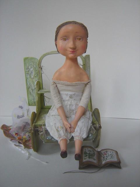 Было лето - Kukly.eu - Авторские Куклы Татьяны Гуриной. Галерея Кукол, Мастер-Класс. Классическое папье-маше, текстиль, наполнит