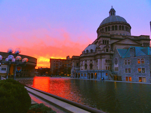 "city blue sunset red sky urban orange reflection church water pool yellow geotagged ma photography photo glow sony newengland cybershot science burn bostonma symphony sonycybershot plaza"" bostonist masschusetts 02115 lurvely everyblock science"" thatsboston ""christian dschx5v hx5v brooksbos"