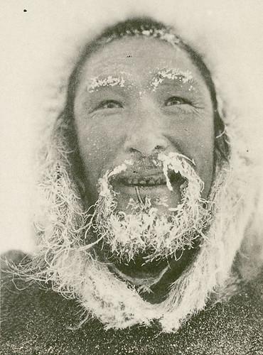 A Man from the Umingmaktormiut Tribe