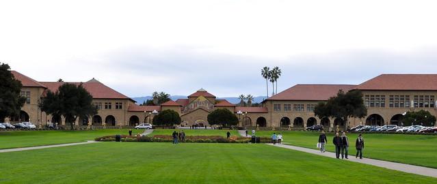 Stanford Quad Pano