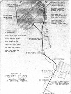 Freeway Studies: Marginal Extension of Bayshore Freeway (1945)
