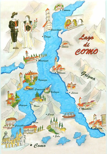 Italy Lake Como Map To Trade Barbara Flickr