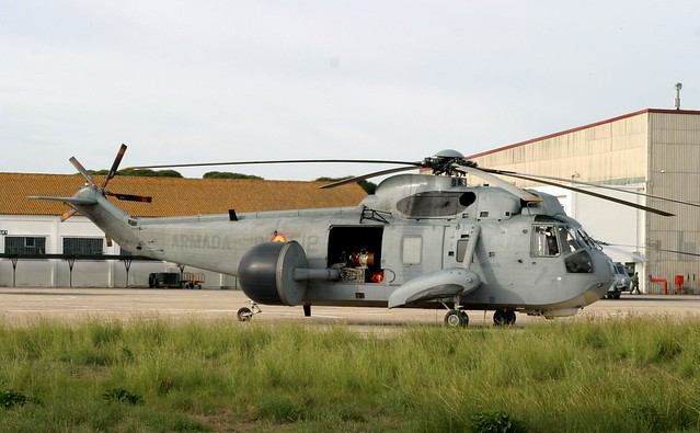SH-3G AEW at Rota,Spanish navy