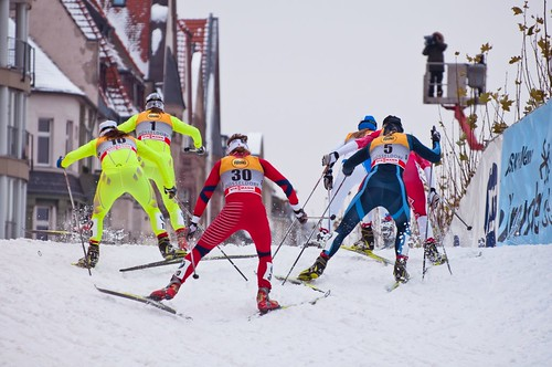 FIS Ski-Langlauf-Weltcup in Düsseldorf