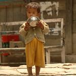 Lunchtime - Annapurna Circuit, Nepal